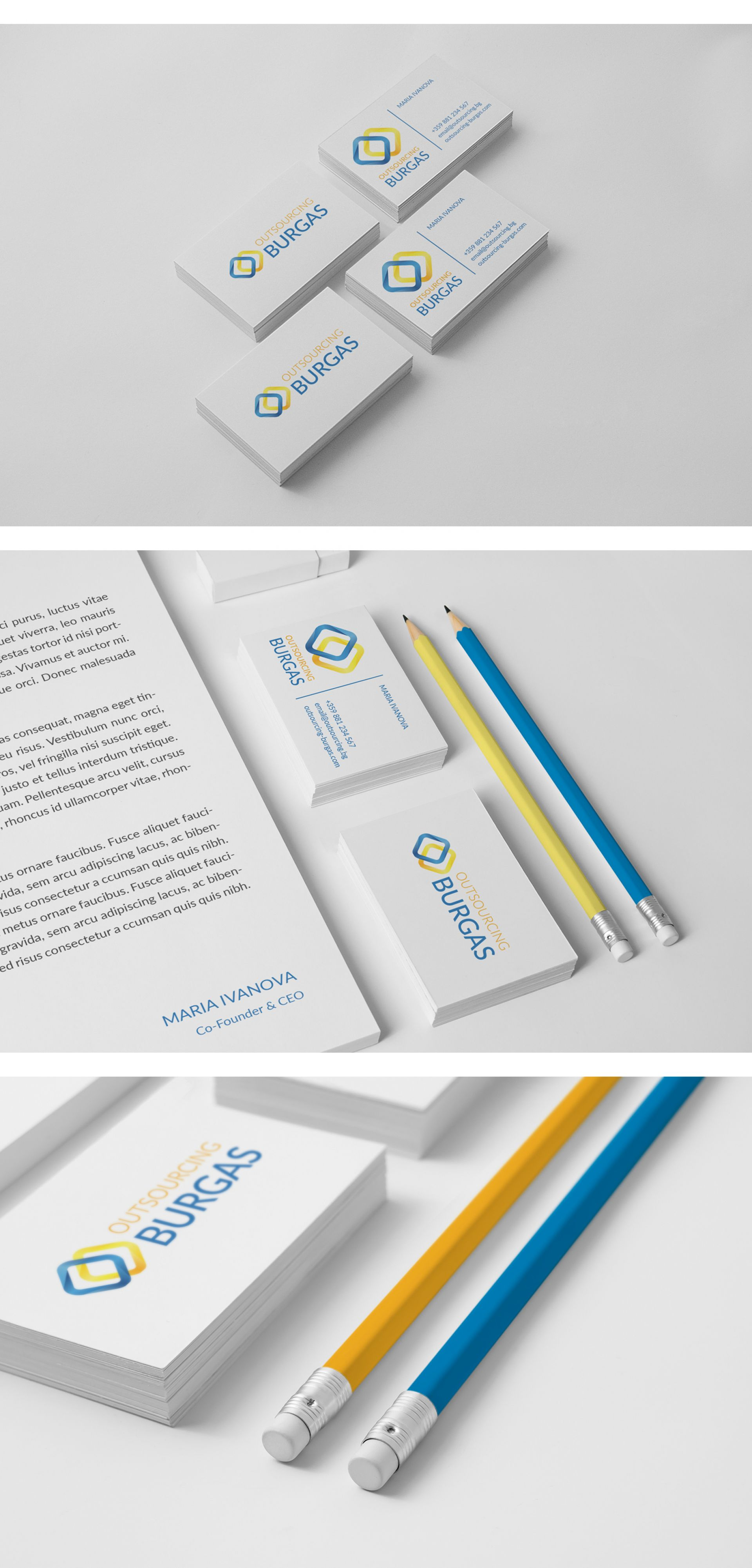 Outsourcing Burgas Corporate Identity