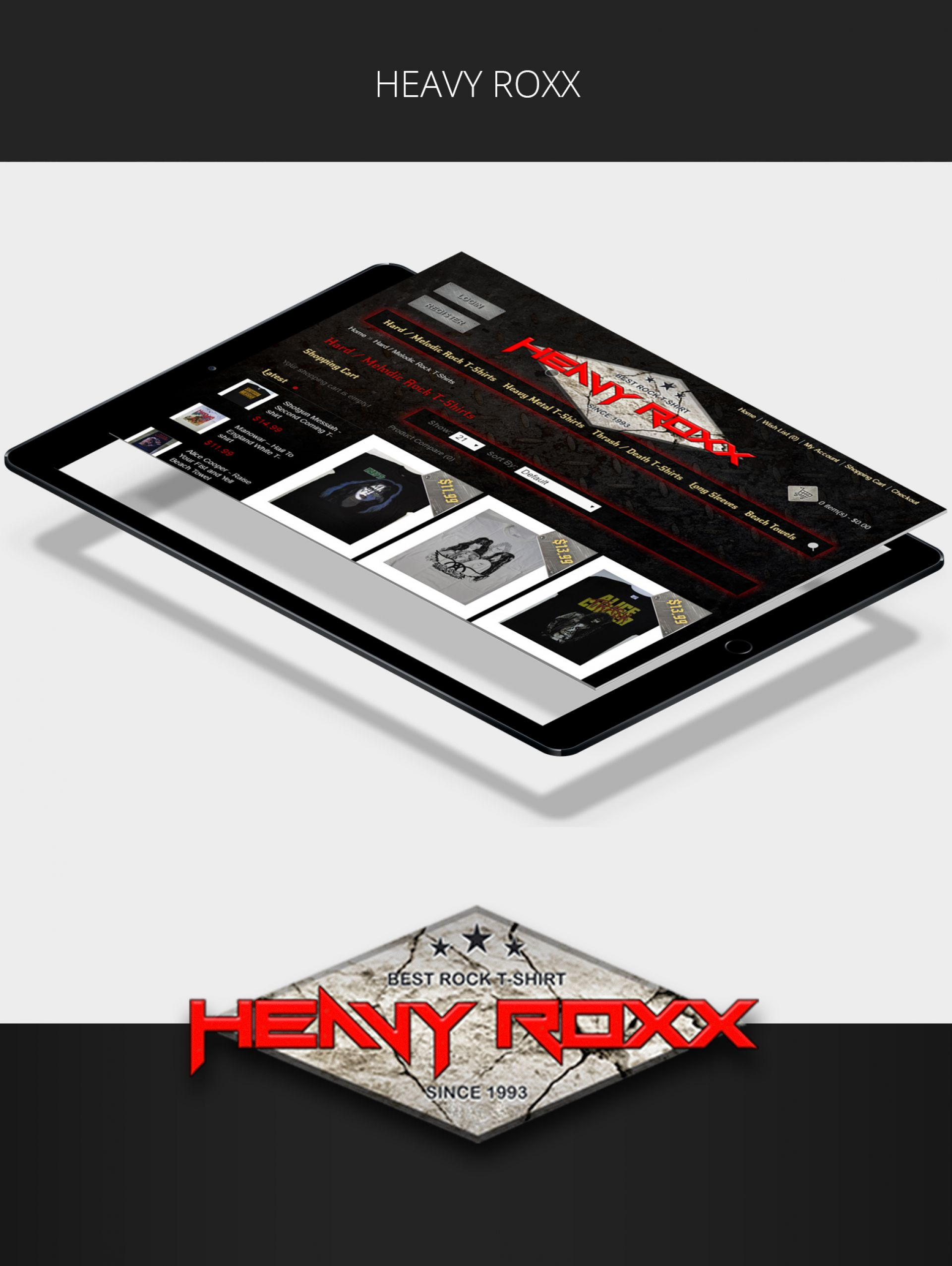 Онлайн магазин Heavy Roxx
