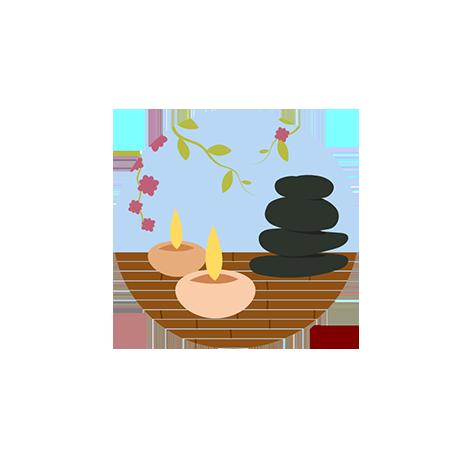 Масажно студио Сахар - Лого и фирмена идентичност  -  Изработка на сайт, мобилно приложение, онлайн магазин от СтудиоУЕБ.БГ
