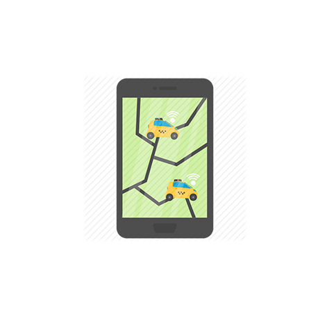 Okay Taxi App  -  Изработка на сайт, мобилно приложение, онлайн магазин от СтудиоУЕБ.БГ